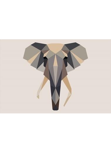 Soley Elephant Djt. 40x60 Banyo Paspası Renkli